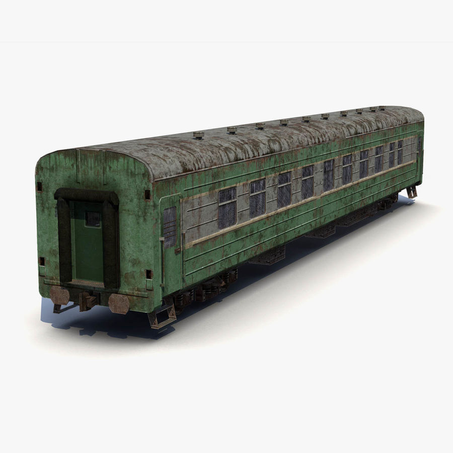 Passenger car royalty-free 3d model - Preview no. 3
