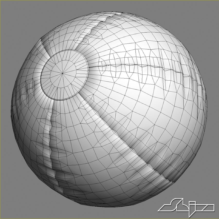 Beach Ball 2 royalty-free 3d model - Preview no. 6