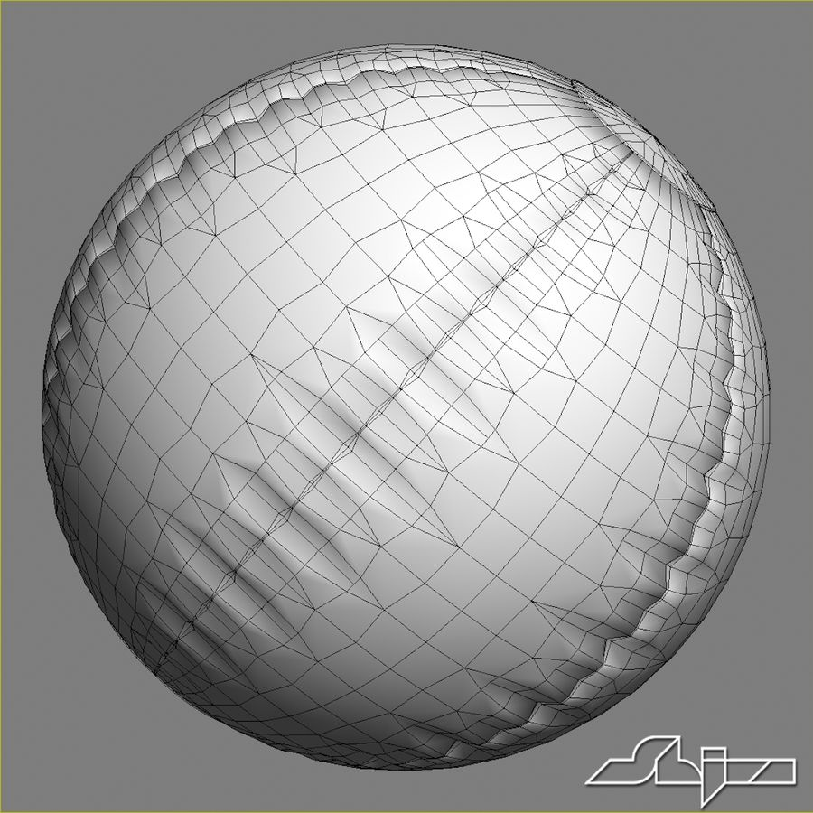 Beach Ball 2 royalty-free 3d model - Preview no. 7