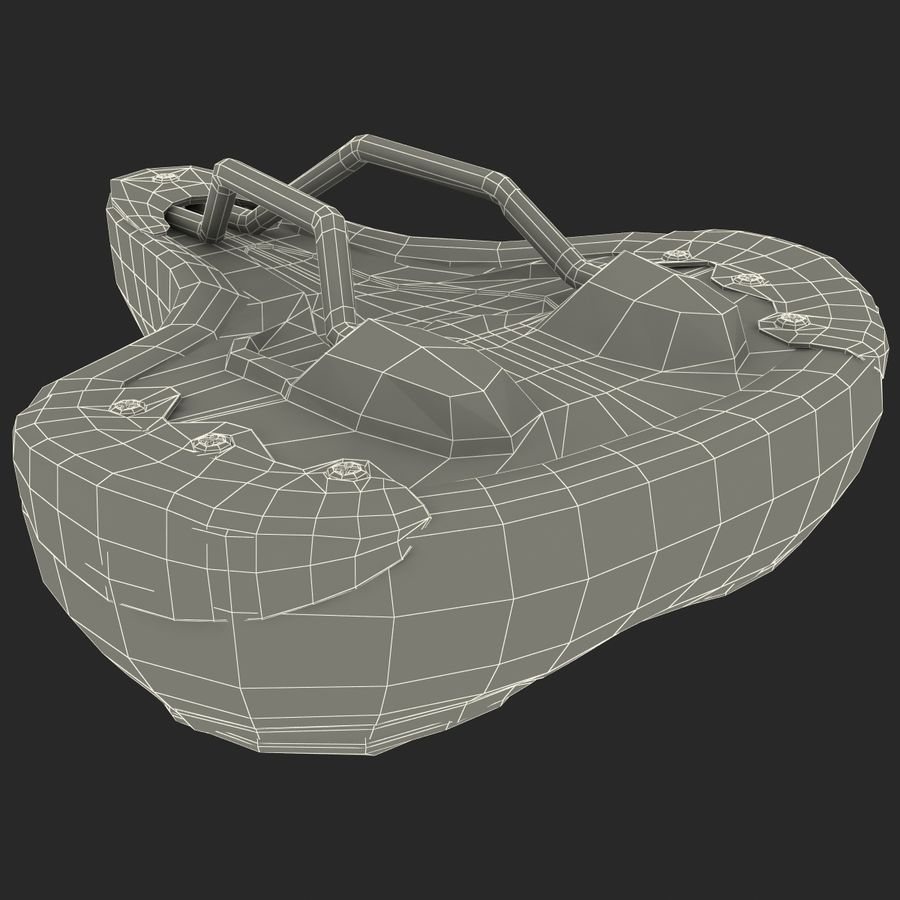 Bicycle Seat royalty-free 3d model - Preview no. 24