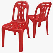 Monobloc Chair 5 3d model