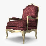 Louis XV Armchair_029 3d model