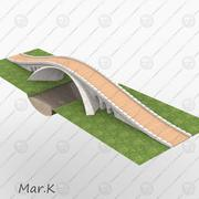 Golden Horn Bridge 3d model