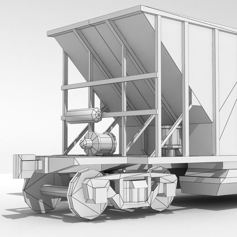 Hopper Car royalty-free 3d model - Preview no. 8