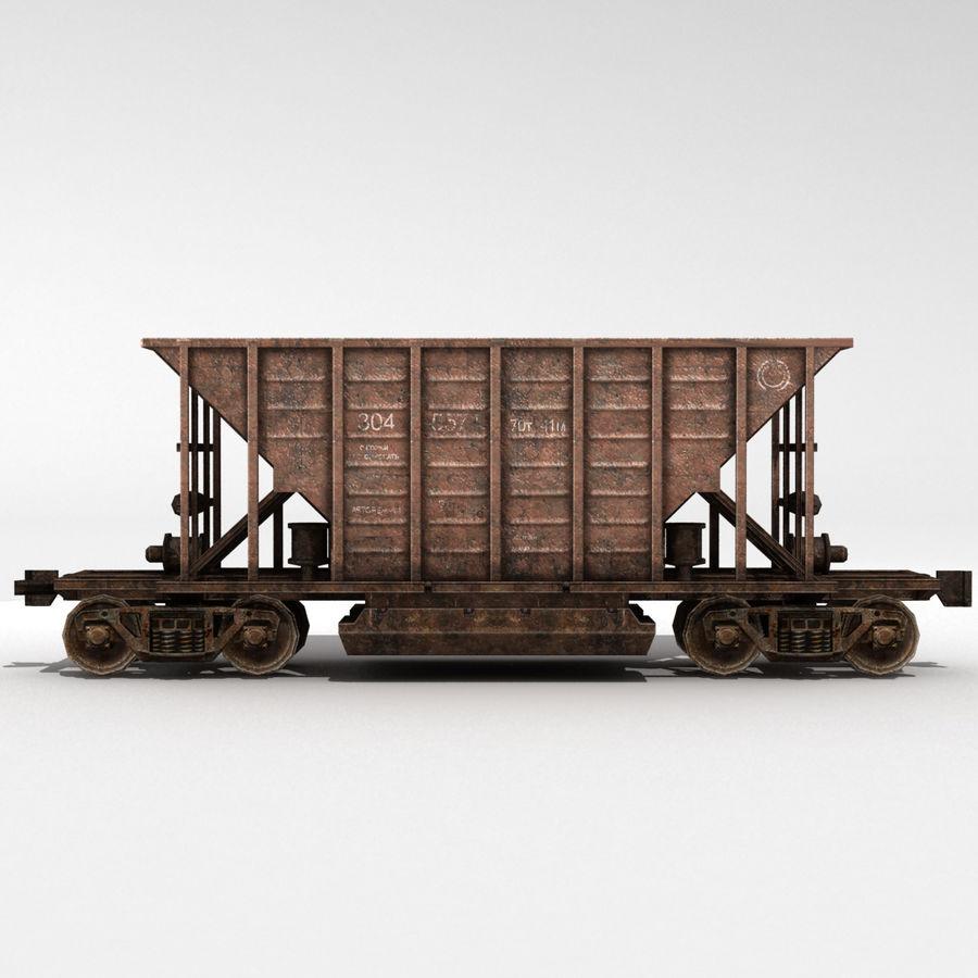 Hopper Car royalty-free 3d model - Preview no. 4