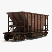Hopper Car 3d model