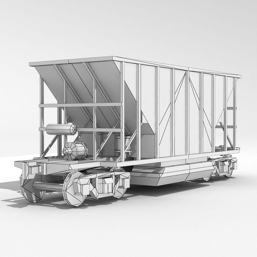Hopper Car royalty-free 3d model - Preview no. 3
