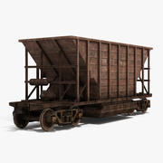 Hopper Car 3d model