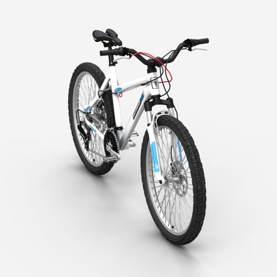 Mountain bike 1 royalty-free 3d model - Preview no. 3