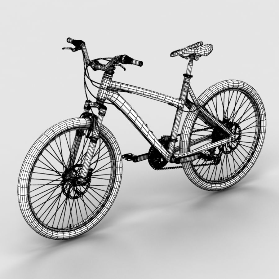 Mountain bike 1 royalty-free 3d model - Preview no. 6