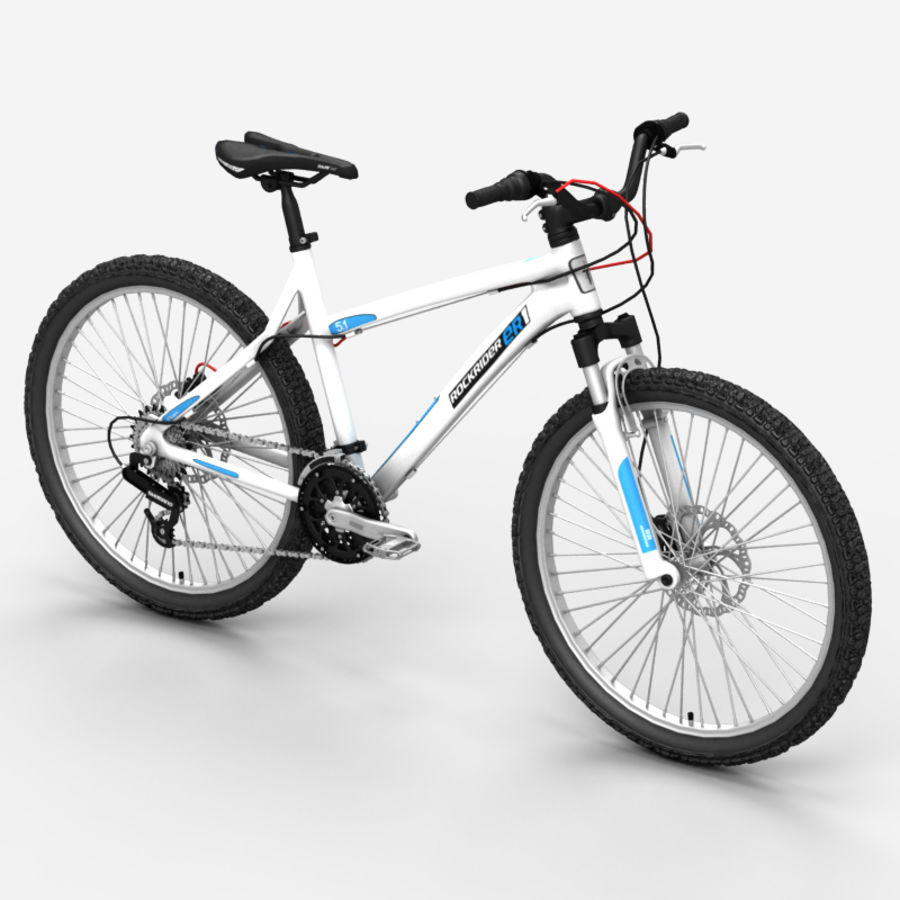 Mountain bike 1 royalty-free 3d model - Preview no. 4