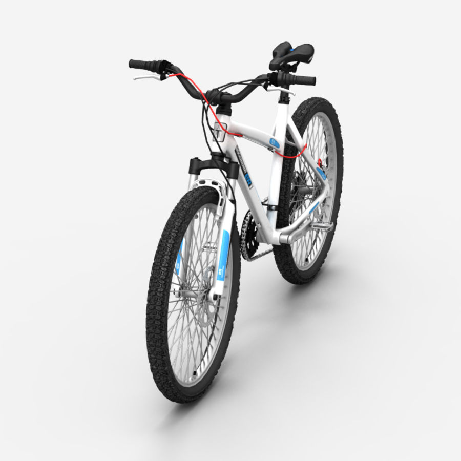 Mountain bike 1 royalty-free 3d model - Preview no. 2