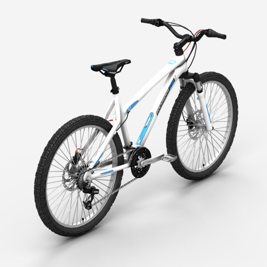 Mountain bike 1 royalty-free 3d model - Preview no. 5