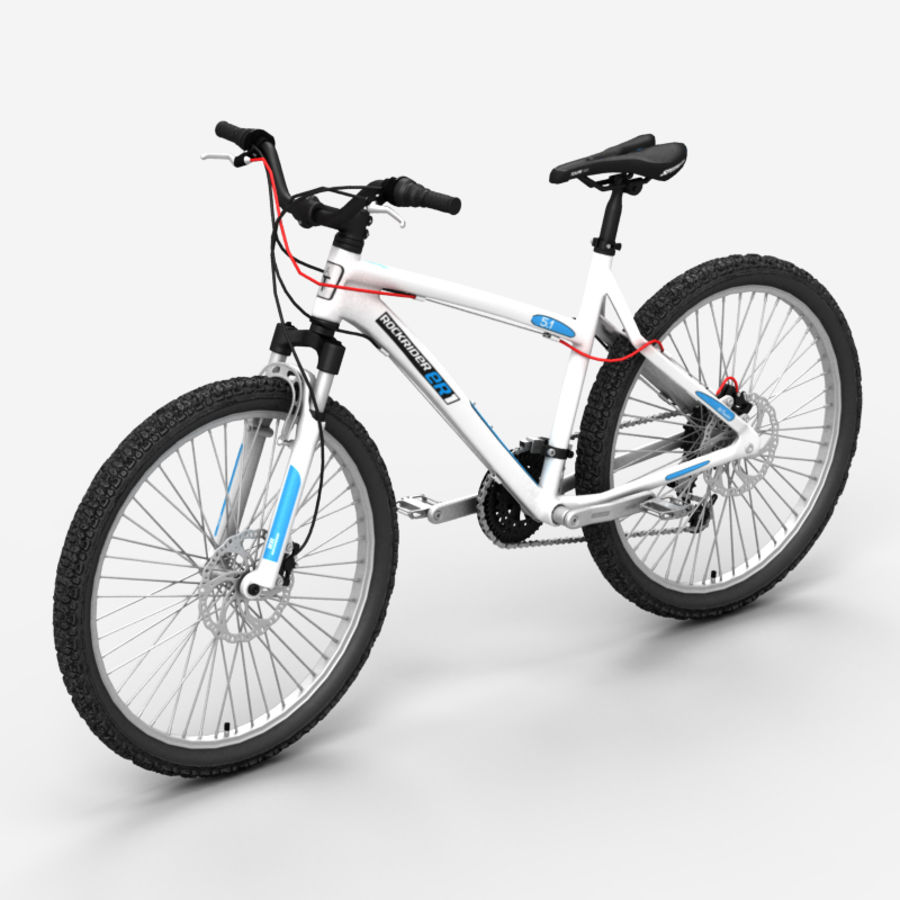 Mountain bike 1 royalty-free 3d model - Preview no. 1