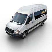 梅赛德斯 - 奔驰短跑运动员2014 3d model