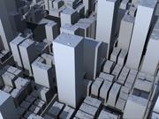 Stad 3d model