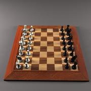 체스 3d model