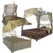 łóżka 3d model