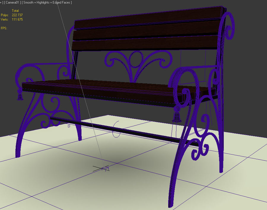 banklar royalty-free 3d model - Preview no. 3