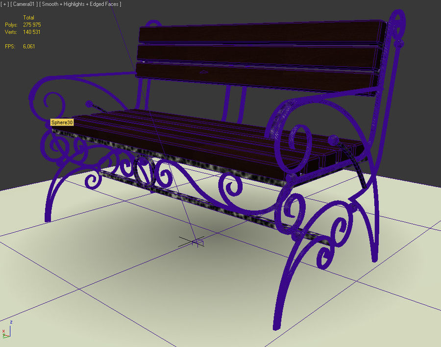 banklar royalty-free 3d model - Preview no. 9