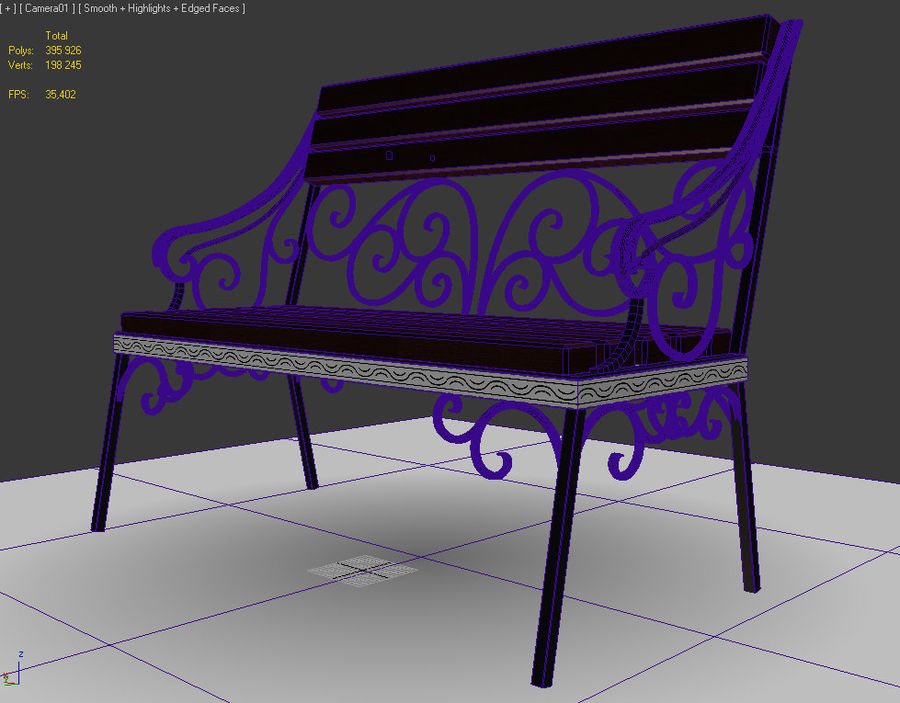 banklar royalty-free 3d model - Preview no. 5