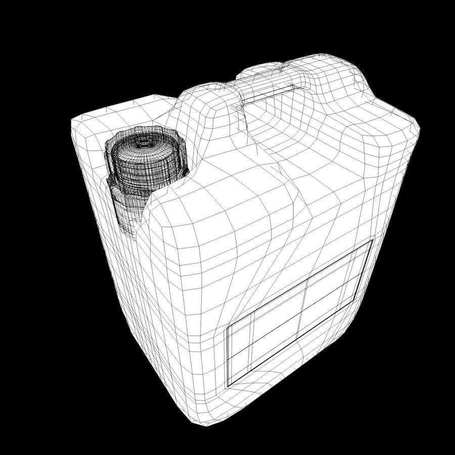肥料タンク_2 royalty-free 3d model - Preview no. 3