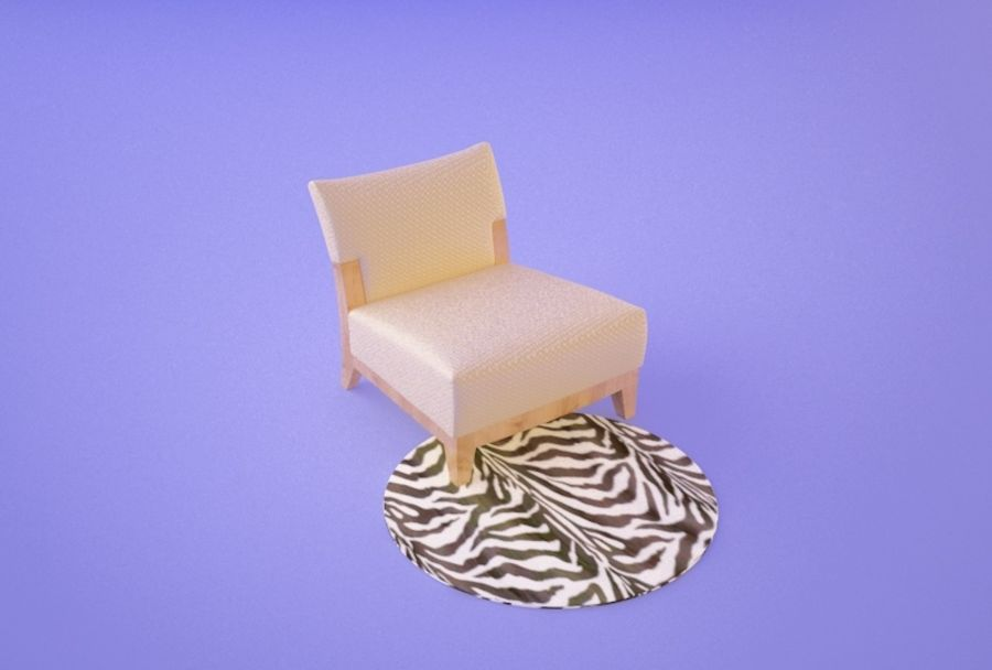 Chair 001 royalty-free 3d model - Preview no. 1