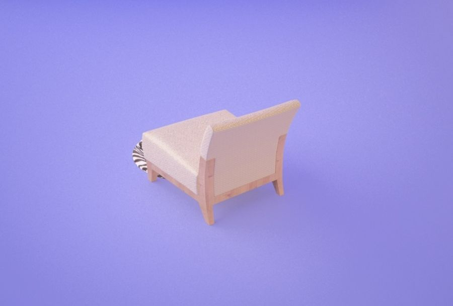 Chair 001 royalty-free 3d model - Preview no. 3