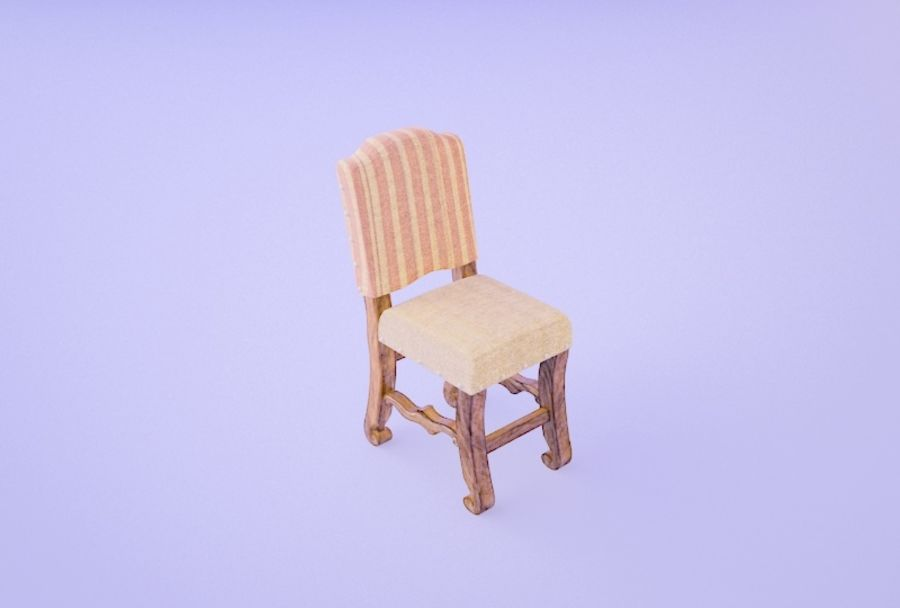 Chair 008 royalty-free 3d model - Preview no. 1
