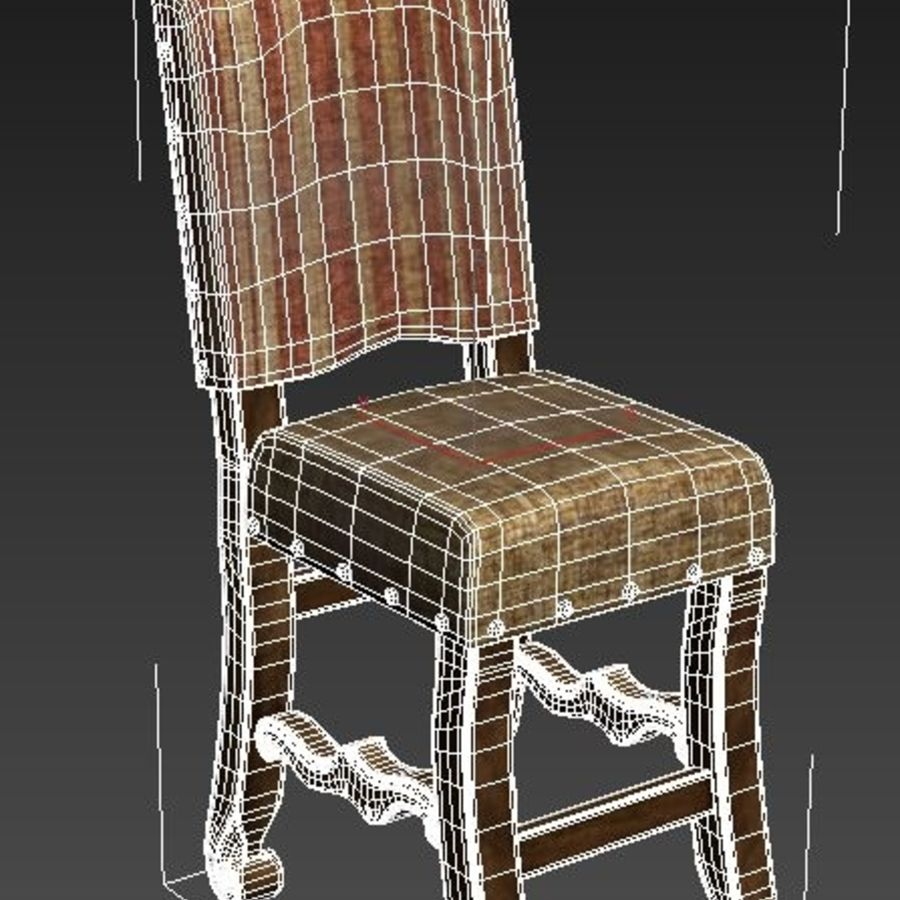Chair 008 royalty-free 3d model - Preview no. 4