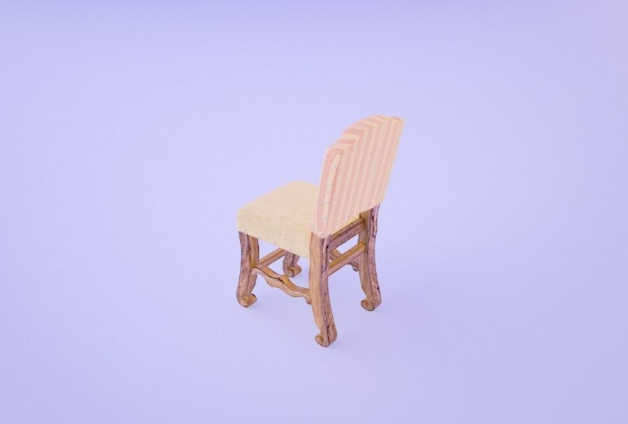 Chair 008 royalty-free 3d model - Preview no. 3