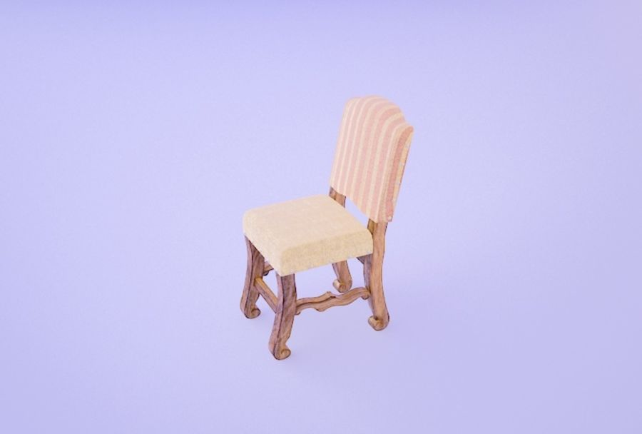 Chair 008 royalty-free 3d model - Preview no. 2