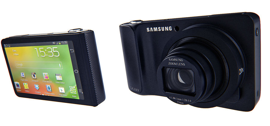 Samsung Galaxy Camera royalty-free 3d model - Preview no. 6