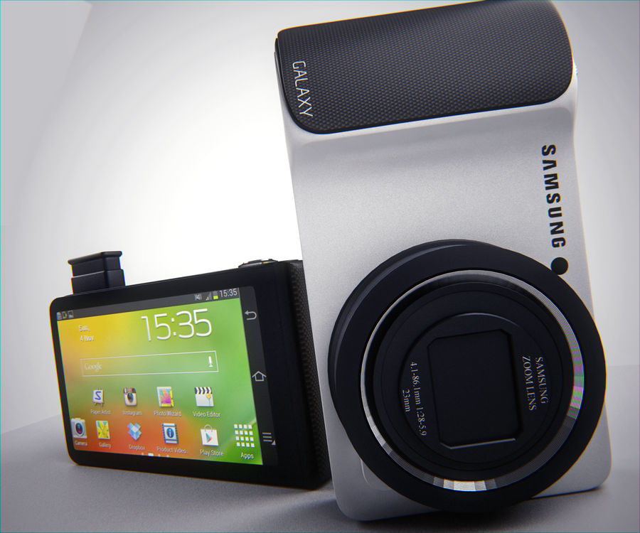 Samsung Galaxy Camera royalty-free 3d model - Preview no. 1