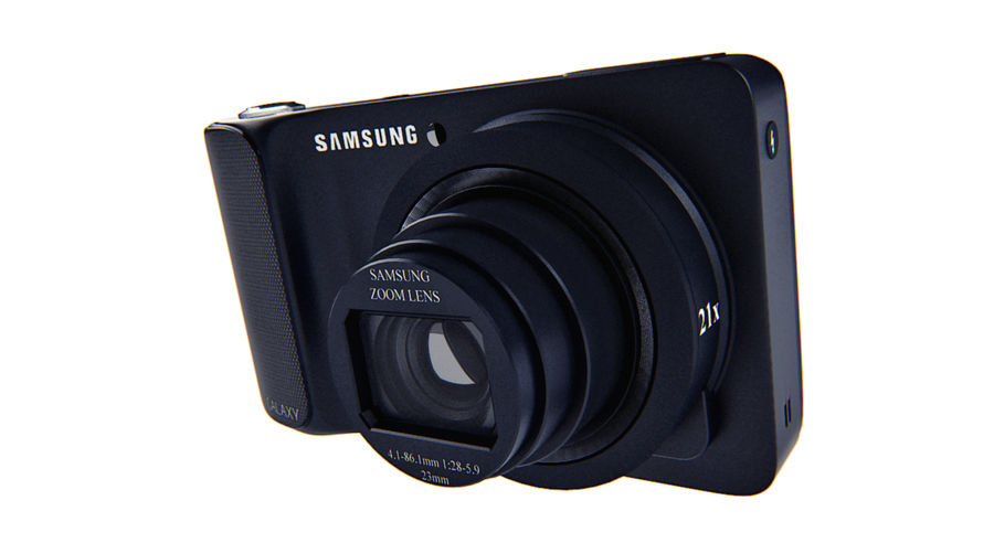 Samsung Galaxy Camera royalty-free 3d model - Preview no. 5