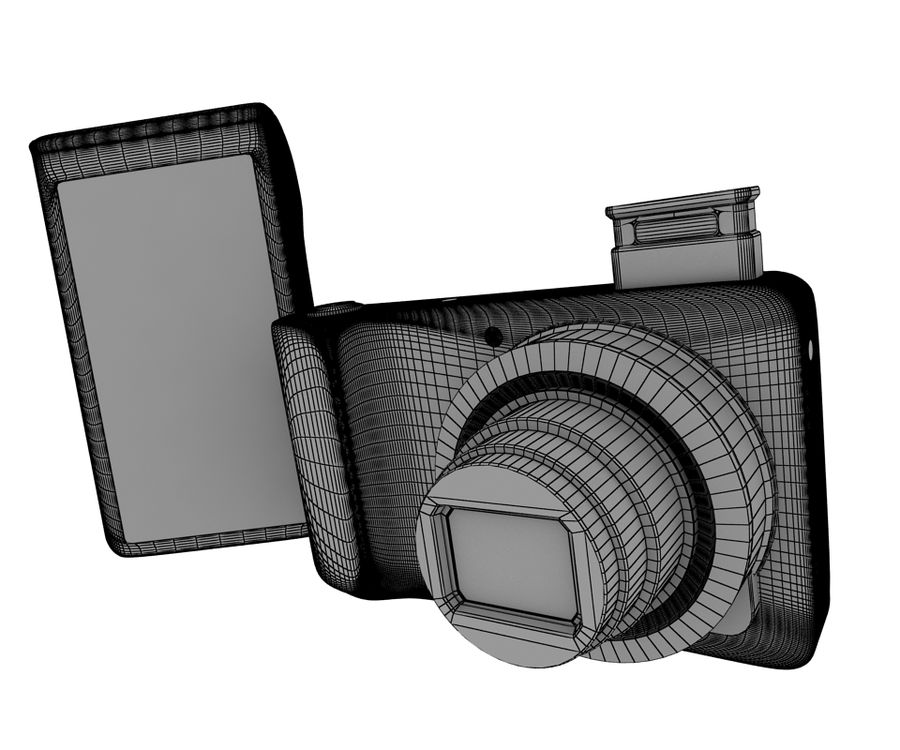 Samsung Galaxy Camera royalty-free 3d model - Preview no. 10