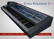 E-MU Emulator II 3d model