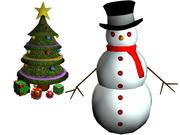 Christmas Bundle 3d model