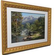 "Picture frame ""Tulip"" 3d model"