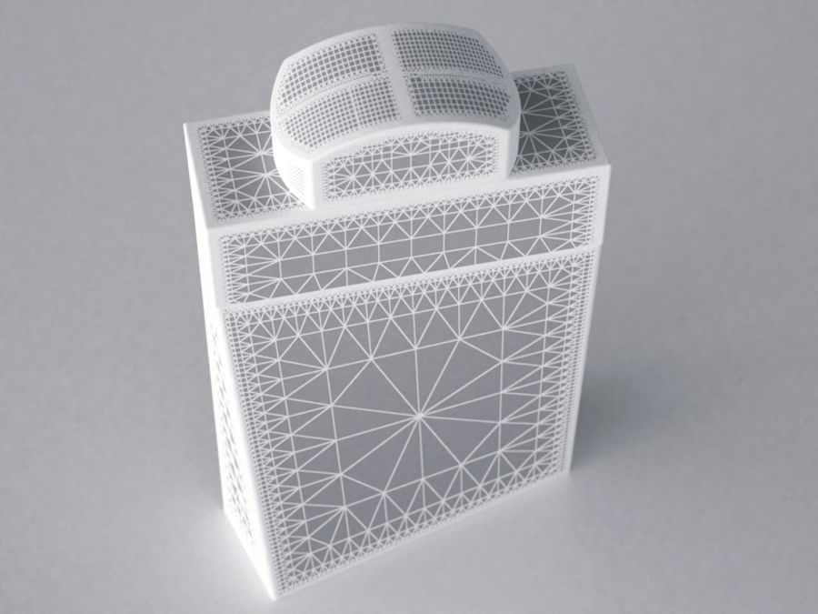 COLOGNE BOTTLE NO.1 2013 RAW royalty-free 3d model - Preview no. 1