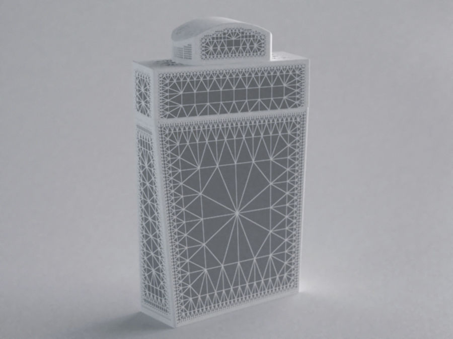 COLOGNE BOTTLE NO.1 2013 RAW royalty-free 3d model - Preview no. 2