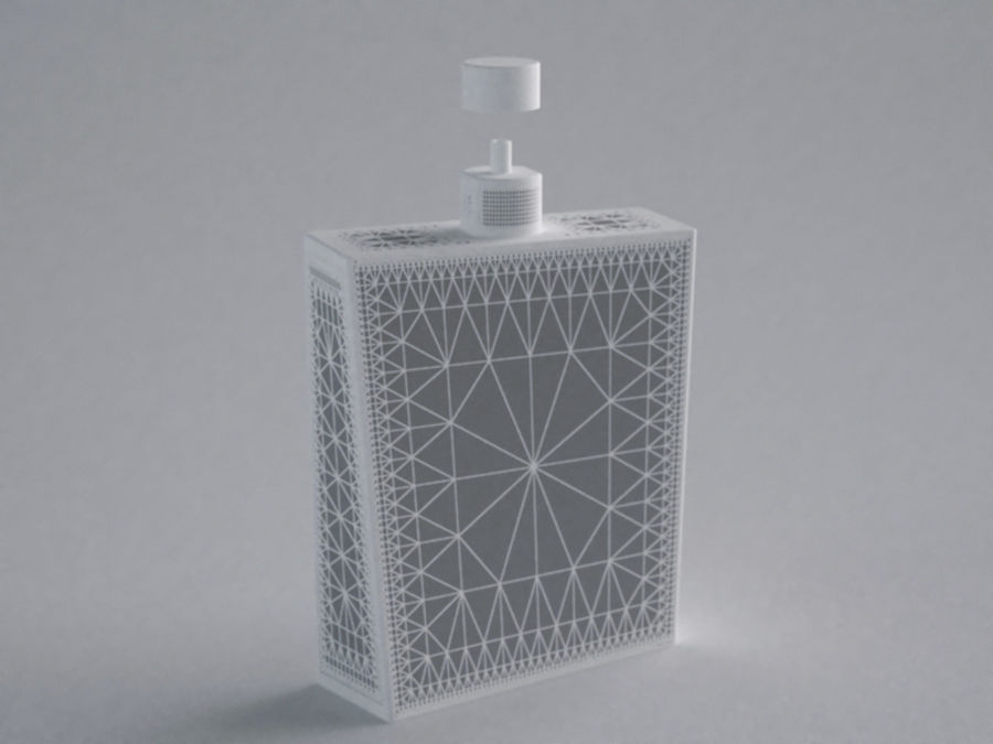 COLOGNE BOTTLE NO.1 2013 RAW royalty-free 3d model - Preview no. 7