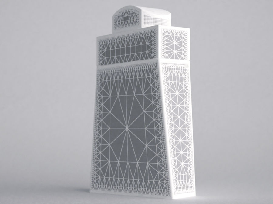 COLOGNE BOTTLE NO.1 2013 RAW royalty-free 3d model - Preview no. 3