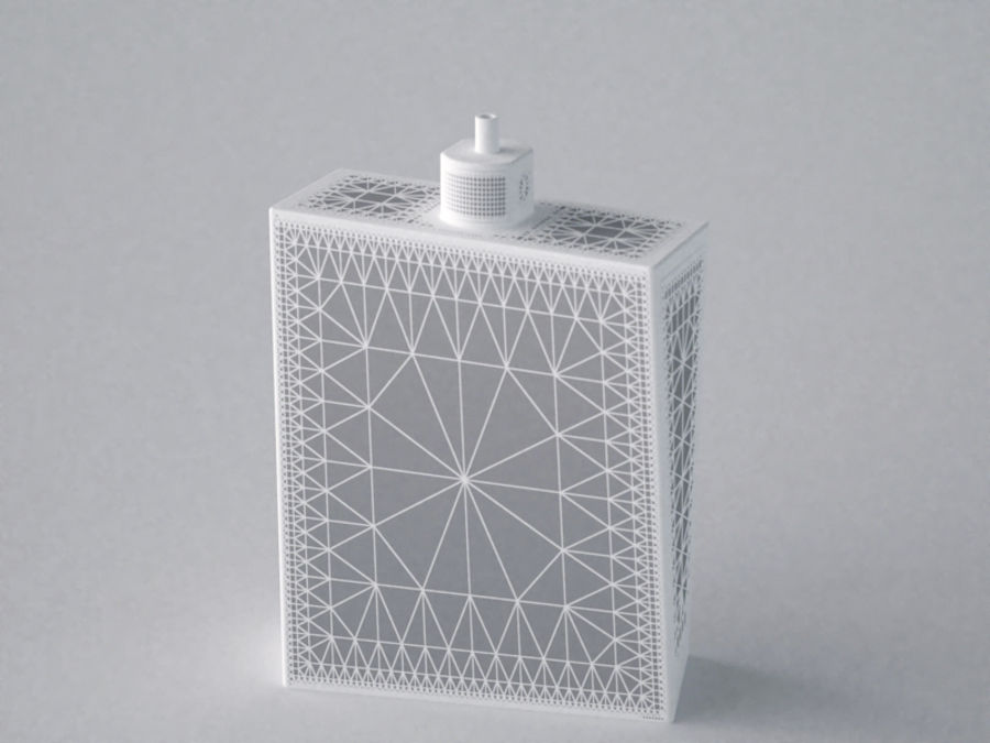 COLOGNE BOTTLE NO.1 2013 RAW royalty-free 3d model - Preview no. 11