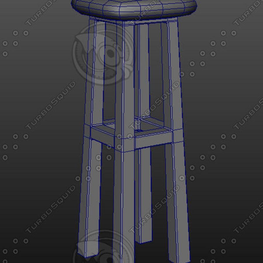 tamborete royalty-free 3d model - Preview no. 5