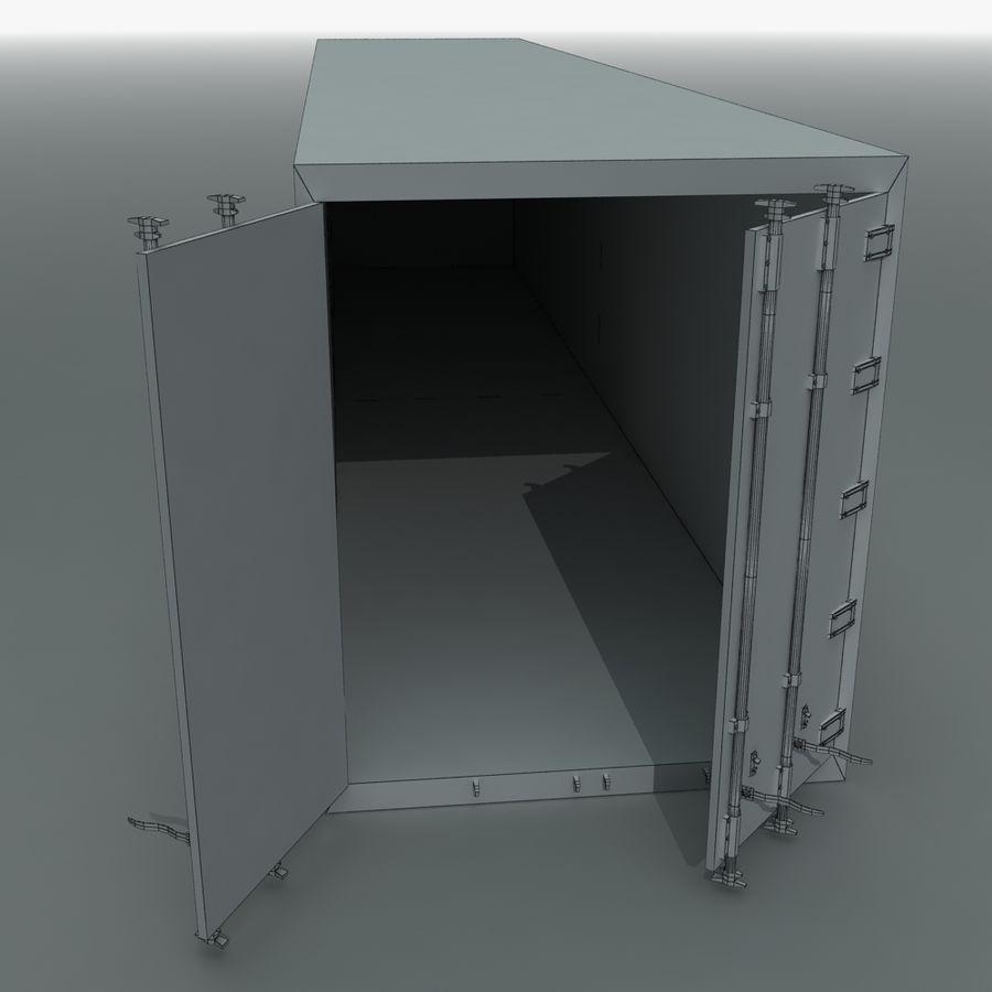 화물 운송 컨테이너 royalty-free 3d model - Preview no. 11