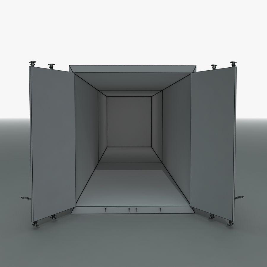 화물 운송 컨테이너 royalty-free 3d model - Preview no. 14