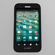 Sharp Aquos Phone SH930W 3d model