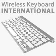 Apple Wireless Keyboard 3d model