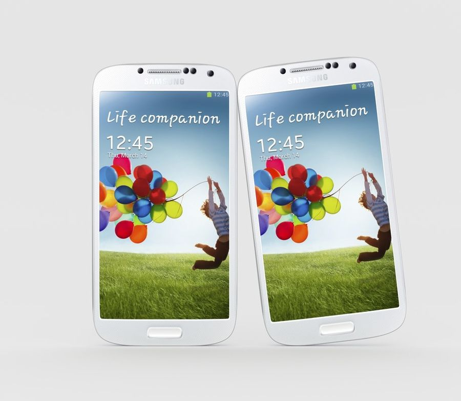 Samsung Galaxy S4 royalty-free 3d model - Preview no. 5